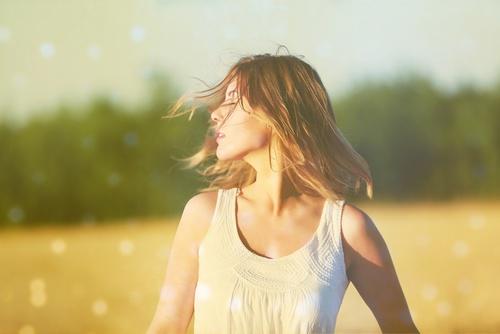塗る日焼け止めは髪に塗れない